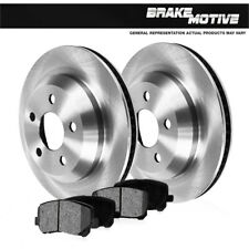 Rear Brake Rotors + Metallic Pads For 1991 1992 1993 1994 1995 1996 Stealth 2WD