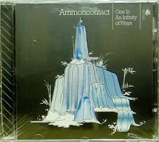 AMMONCONTACT 'ONE IN AN INFINITY OF WAYS' CD NEW UNPLAYED DISTRIBUTOR STOCK
