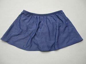 Lands' End Size 14 Womens Navy Swimwear Bikini Bottom Skirt