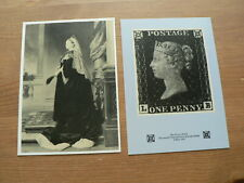National Postal Museum Postcards x 2,  1990, Penny Black Anniversary