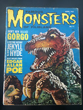 FAMOUS MONSTERS OF FILMLAND #11 1961-GORGO-CHANEY JR-KARLOFF-POE-SPACEMEN