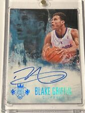 2014-15 Panini Court Kings Signatures Blake Griffin 04/25 CK-BG Clippers
