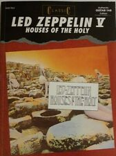 LED ZEPPELIN GUITAR TAB / TABLATURE / LED ZEPPELIN HOUSES OF THE HOLY / SONGBOOK