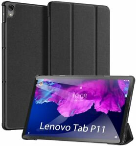 For Lenovo Tab P11 Case Premium Smart Book Stand Cover