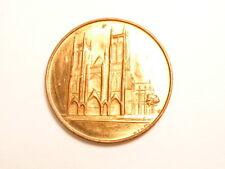 St. John the Divine Episcopal Cathedral souvenir medal