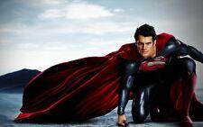 POSTER SUPERMAN HENRY CAVILL AMY ADAMS MAN OF STEEL L'UOMO D'ACCIAIO LOCANDINA 2