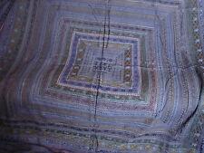 Belle Bleu Vintage Jewel Tone texturé Couette bedspead Bed Cover India