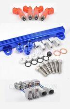 Toyota Celica MR2 ST185 3SGTE Blue ST165 850cc Fuel Injectors Rail 1-2nd gen GT4