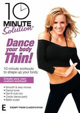10 Minute Solution - DANCE YOUR BODY THIN - Sealed DVD - Get slimmer & trimmer!