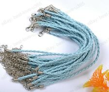 Wholesale 10/20/50/100Pcs Braid Rope Leather Bracelets Many Colors To Choose