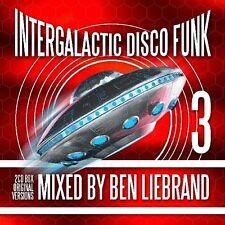 Ben Liebrand - Intergalactic Disco Funk Vol. 3    2-cd  new  Non Stop mixed