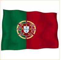 bulk lot 10 x sticker stickers decal vinyl decals national flag car PORTUGAL