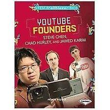 Youtube Founders Steve Chen, Chad Hurley, and Jawed Karim (Stem Trailblazer Bios