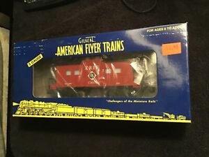 American Flyer 6-48733 Erie caboose S Scale, NIB nos Train new