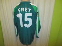 """Werder Bremen Puma Langarm Trikot 1998/99 """"o.tel.o"""" + Nr.15 Frey Gr.XL TOP"""