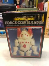 Vintage 1977 Mego Micronauts FORCE COMMANDER In Original BOX