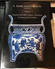 MING BLUE & WHITE JIAJING - CHONGZHEN BOOK Marchant EST 1925 Large H/Book Book