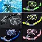 Scuba Diving Equipment Dive Mask Dry Snorkel Set Scuba Snorkeling Mask Gear Kit