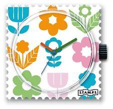 STAMPS CADRAN DE MONTRE -FLOWER BED - 25€ NEUF - LIVRAISON LETTRE SUIVIE OFFERTE
