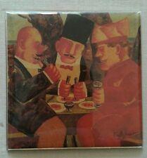 Franz Borghese piccola serigrafia plastificata ACI AUTOMOBILE CLUB