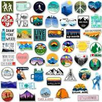 Lot 50 Random Vinyl Funny Laptop Skateboard Stickers Luggage Decals Sticker