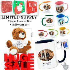 Personalised Photo Mug Custom Cup Text Image Name Logo Christmas Birthday Gift