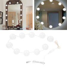 10er/Set Badezimmer Led Spiegel Licht Kit für Make-Up Hollywood Spiegel dimmbar❤