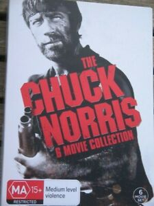 THE CHUCK NORRIS MOVIE COLLECTION - DVD