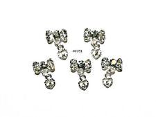 5pc Nail Art Charms 3D Nail Rhinestones Decoration Jewelry DIY Bling - C351
