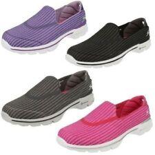 Zapatos planos de mujer textil de color principal negro