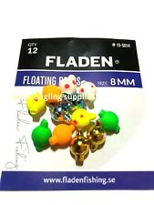 Fladen Floating Sea Fishing Attractor Beads 8mm for rigs hooks etc