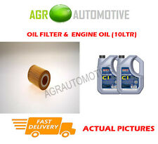 DIESEL OIL FILTER + C1 5W30 OIL FOR LAND ROVER DISCOVERY 3.0 256 BHP 2009-
