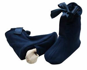 Damen Wärmepantoffeln Fleece Wärmehausschuhe beheizbar Körner Thermo Socke 35-38