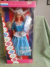 "Barbie Dutch MATTEL 1993 "" Vintage "" toys doll original special edition"