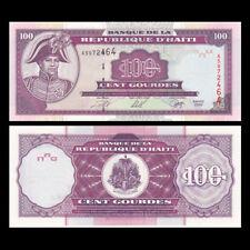 Haiti 100 Gourdes Banknote, 2000, P-268, UNC, America Paper Money