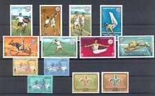 KUWAIT 1963/66 --13 STAMPS ** MNH VF SPORT