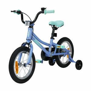 "14"" Boys Kids Ride-on Bike 35cm Bicycle Blue with Training Wheels AU"