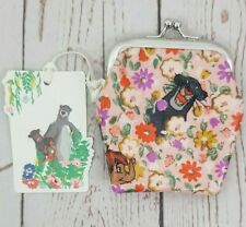 Cath Kidston x Disney Jungle Book Mini Clasp Jungle Ditsy Blush Colour New w/Tag
