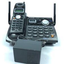 Panasonic KX-TG5672 Wireless Phone Base Answering Machine Set 4.F4