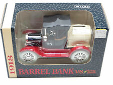 ERTL 1/25 1918 Barrel Bank Runabout Variety Stores Die Cast Bank NIP #3857