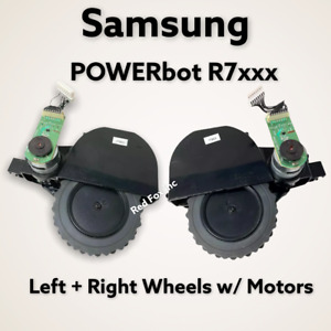 New Samsung POWERbot R7040 R7065 R7070 R7090 Left + Right Wheel & Motor OEM