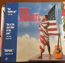 * Bob Roberts * Tim Robbins  Alan Rickman  Extended Play Laser Disc BRAND NEW