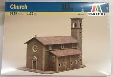Italeri 1/72 Old Church Building Model Kit # 6129