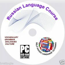 RUSSIAN LANGUAGE COURSE , 2 COURSES ON 2 DISCs