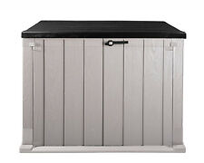 Mülltonnenbox Storer Plus XL 1330 L grau-anthrazit Gerätebox abschließbar NEU