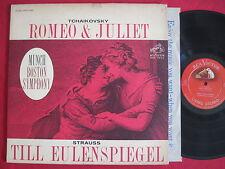 TCHAIKOVSKY / STRAUSS - ROMEO & JULIET - MUNCH - RCA LIVING STEREO LSC-2565 LP