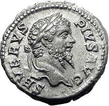 SEPTIMIUS SEVERUS 193AD Silver Authentic  Ancient Roman Coin Felicitas i61520