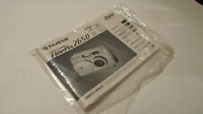 ORIGINAL FUJI FUJIFILM FINEPIX 2650 USER INSTRUCTION MANUAL OPERATING GUIDE
