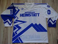 Eishockey EC Hedos München 10 DON LANGLOIS 1991 Addias Trikot Jersey