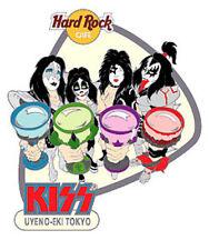 Hard Rock Cafe Uyeno-Eki Tokyo Kiss Series Pin 2003 - Kiss Group